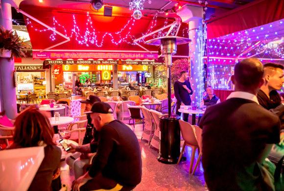 Peppermint Cocktail Bar