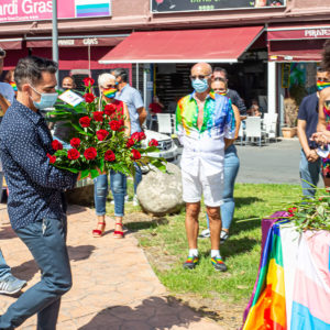Acto en Yumbo por el día mundial del Orgullo